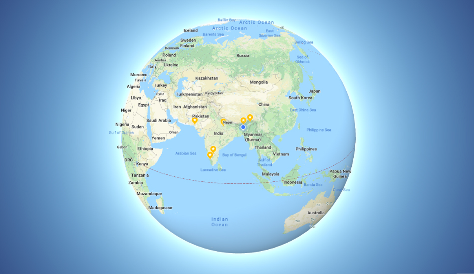 Google Maps finally realises Earth is round, displays 3D Globe when zoomed out