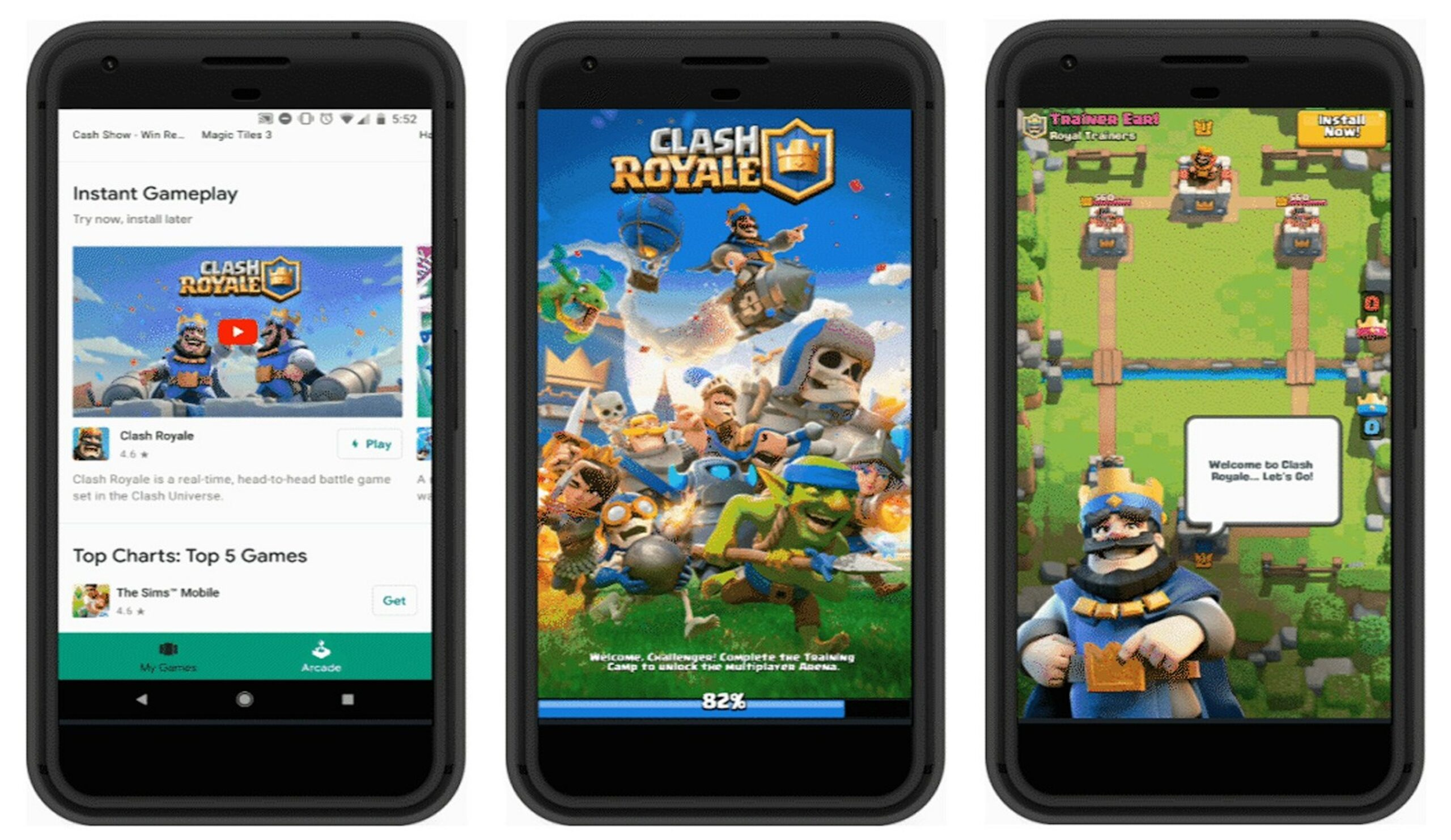 Google Play Instant lets you try games before installing them