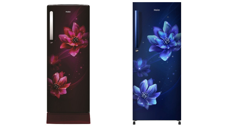 Haier introduces its range of direct cool single door refrigerators in Steel and Floral finish