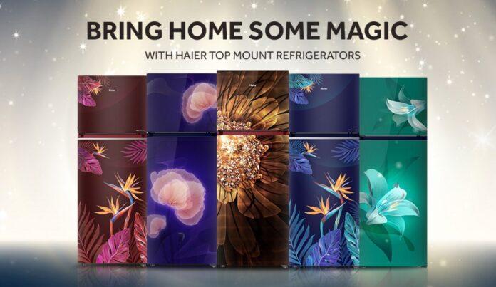 Haier Magic Convertible refrigerator