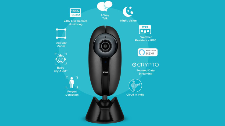 Hero Electronix introduces Qubo Smart Home security camera in India