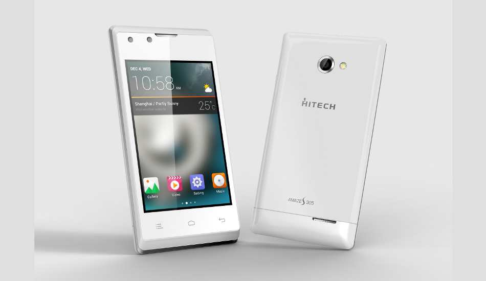 Hitech Amaze S-305 with Android KitKat launched for Rs 2,999