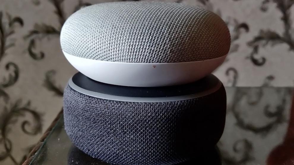 Google Home Mini vs Amazon Echo Dot: Small Size, Big Sound