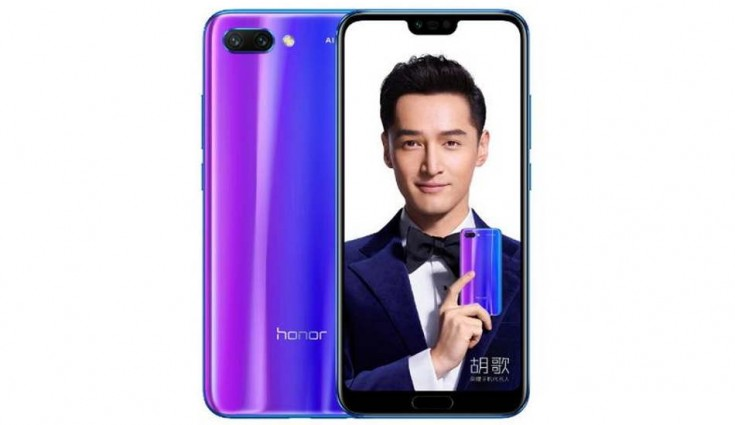 Honor 10 in Pictures