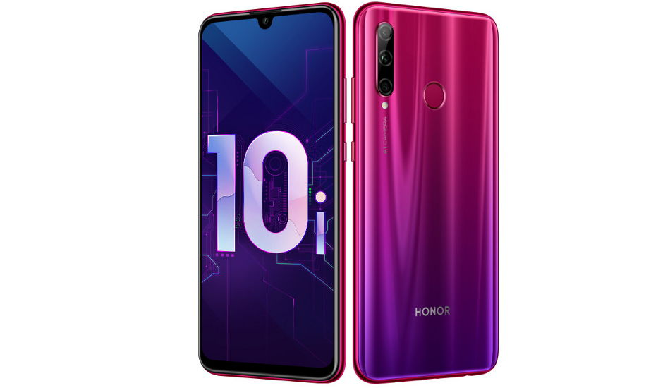 Honor 10i announced with 6.21-inch FHD+ display, 32MP front camera