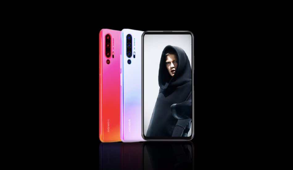 Honor 20 official pictures reveal top-left hole-punch display, quad-cameras
