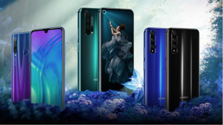 Honor 20 Pro, Honor 20 and 20i launched in India, price starts at Rs 14,999