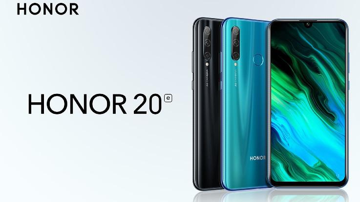 Honor 20E with triple-camera setup announced