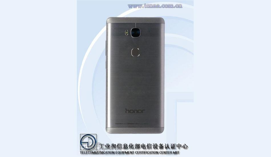 Huawei Honor 5X with fingerprint sensor spotted