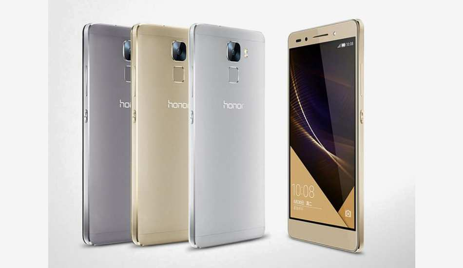 Huawei Honor 7 unveiled with innovative fingerprint scanner