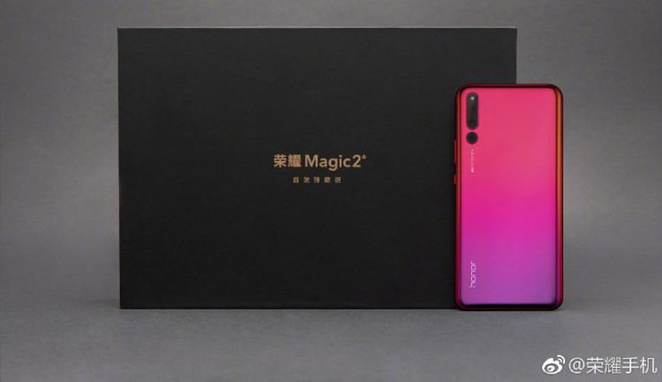 Honor Magic 2 official images teased ahead of the launch