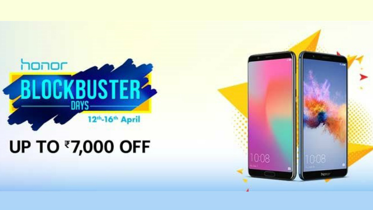 Honor Blockbuster Days Sale on Amazon: Top deals on Honor 7X, Honor 8 Pro and more