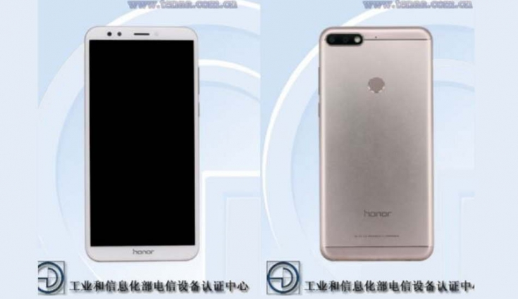 Honor 7C with 18:9 screen and octa-core CPU spotted on TENAA