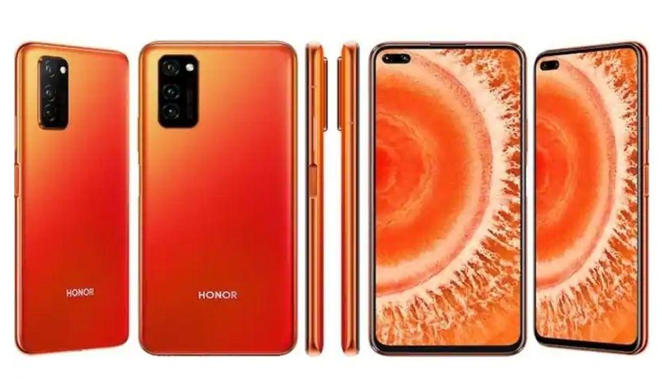 Honor announces Honor V30 Dawn Orange colour variant