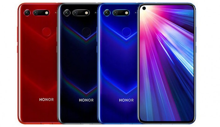 Honor View20 with 6.4-inch All-View display, 48-megapixel rear camera + TOF secondary sensor announced