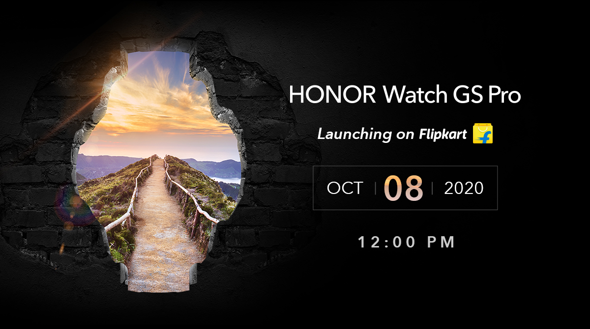 Honor Watch GS Pro launching in India on October 8