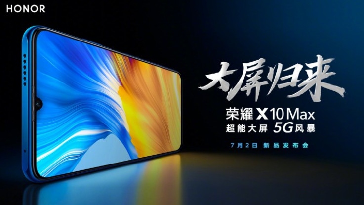 Honor X10 Max confirmed to launch on July 2