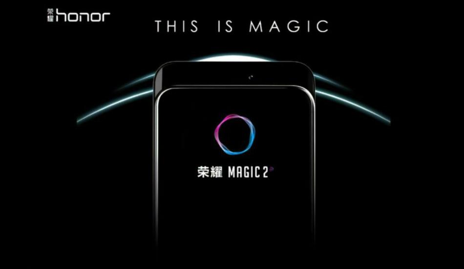 IFA 2018: Honor Magic 2 with Kirin 980 SoC, slider camera officially teased