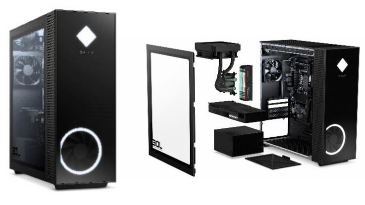 HP Omen 25L and 30L gaming desktops announced