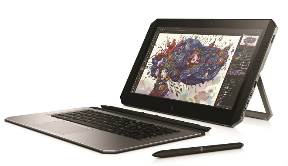 HP ZBook X2 detachable tablet with 14-inch 4K display announced