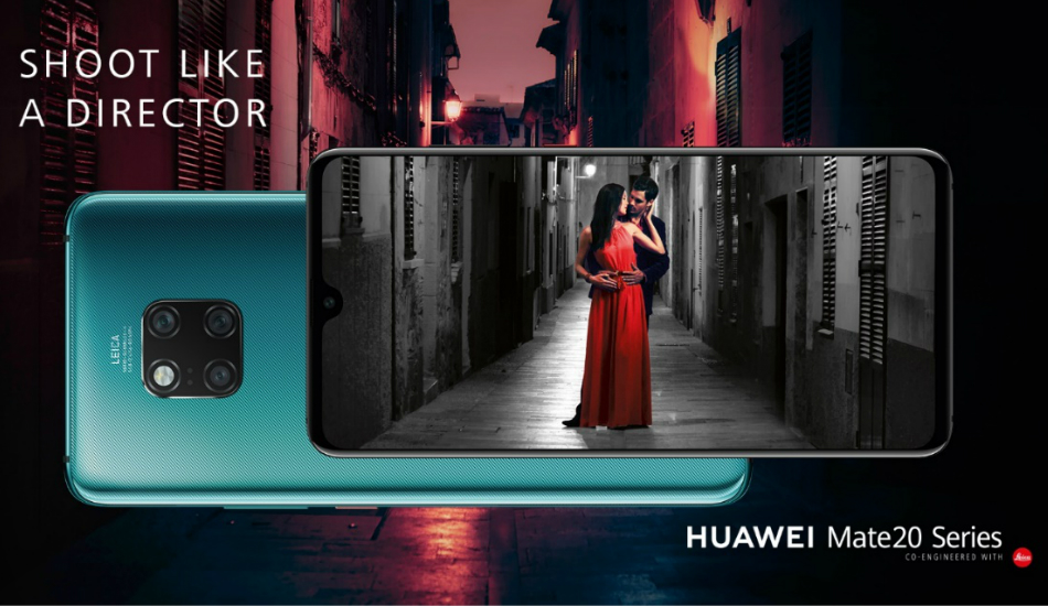 Huawei's upcoming Mate lineup will debut in India with AI Cinema effect