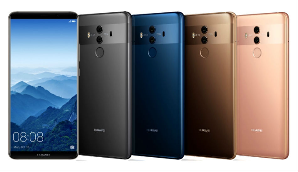 Huawei Mate 10 Pro units are now receiving Android Pie update