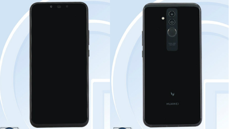 Huawei Mate 20 Lite renders leaked, reveal camera and battery details
