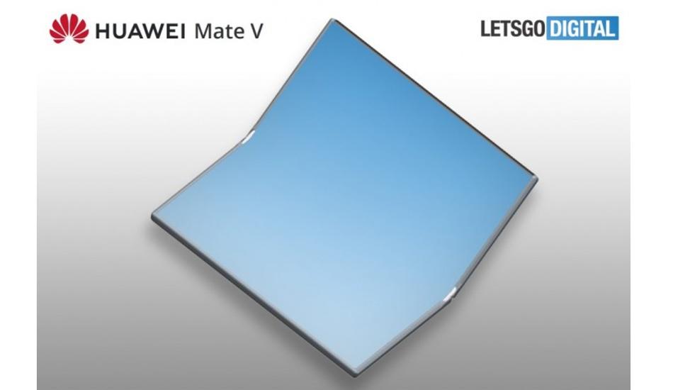 Huawei Mate V foldable phone in works