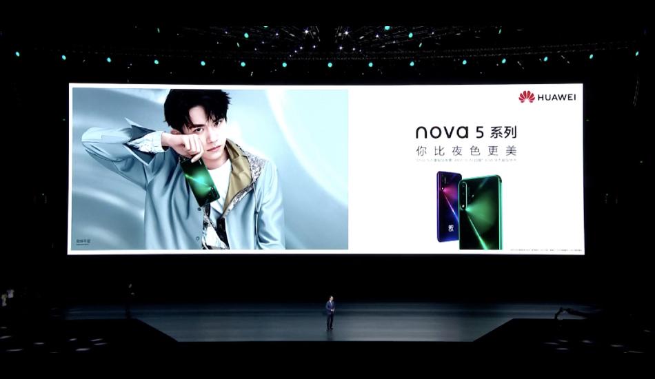 Huawei Nova 5, Nova 5i, Nova 5 Pro launched with Kirin 810, quad camera, 40W charging