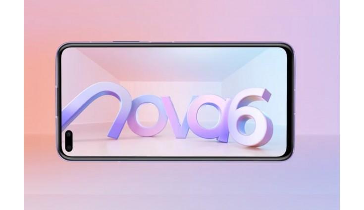 Huawei Nova 6 5G live images leaked