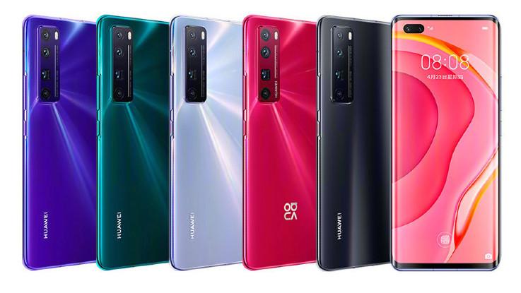 Huawei Nova 7 5G, Nova 7 Pro and Nova 7 SE announced