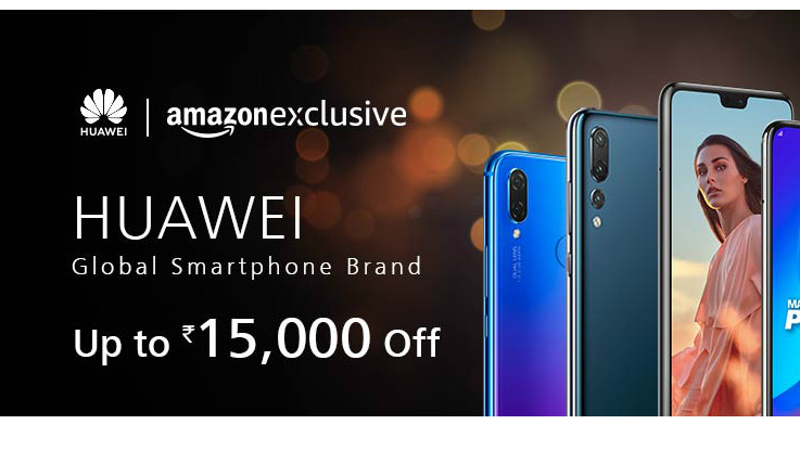 Amazon Great Indian Sale: Huawei announces discounts on P20 Pro, P20 Lite and Nova series