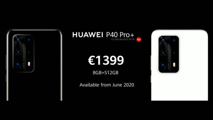 Huawei P40 Pro+ with a Penta-camera setup announced