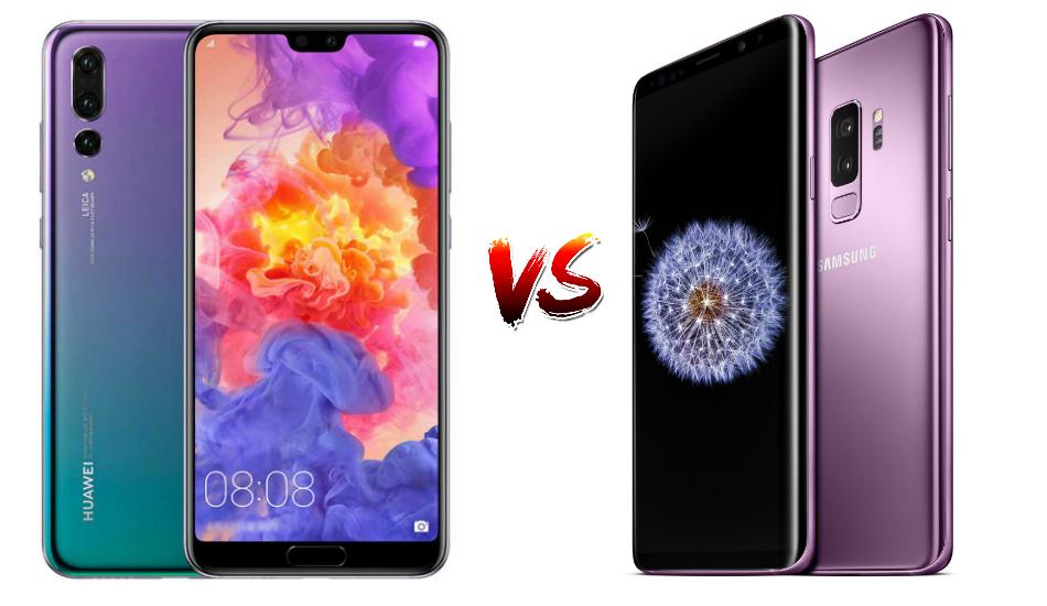 Huawei P20 Pro vs Samsung Galaxy S9 Plus: Flagship Frontrunners