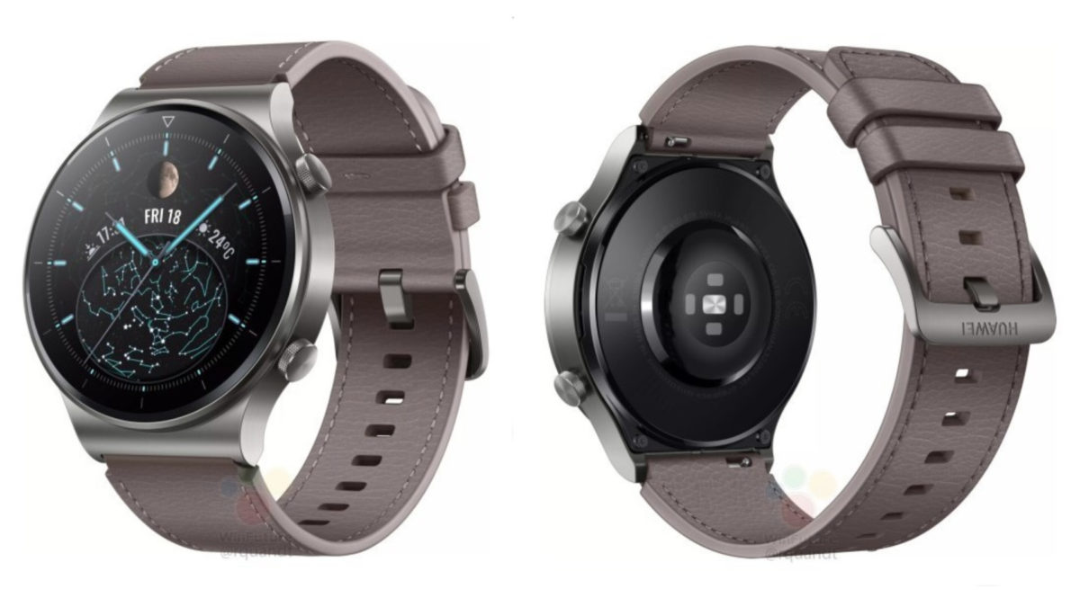 Huawei's upcoming Watch GT 2 Pro renders and specifications leaked