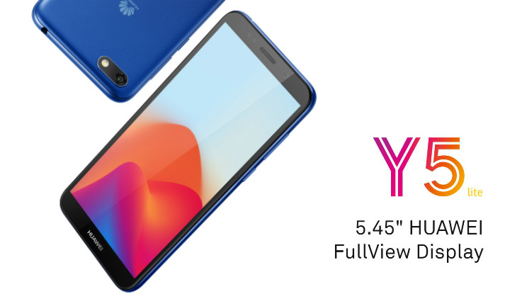 Huawei Y5 Lite with Android Oreo (Go Edition) announced