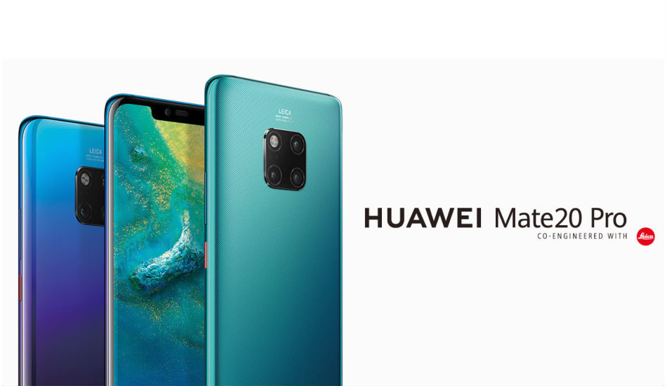 Huawei Mate 20 Pro with 6.39-inch QHD+ OLED display, triple rear cameras launched in India for Rs 69,990