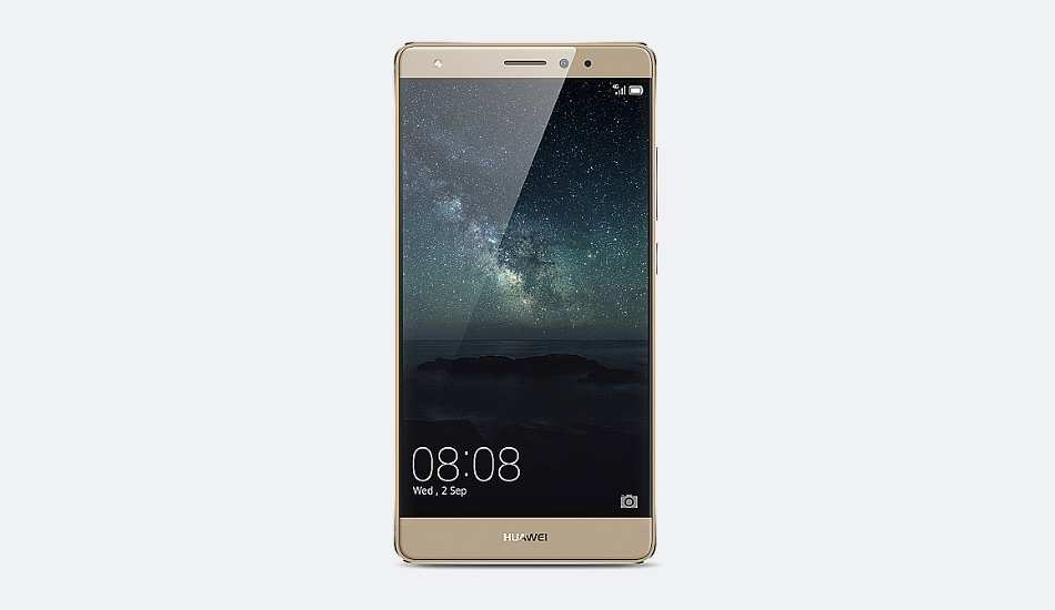 Huawei Mate S unveiled, comes with the display technology used in Apple Watch
