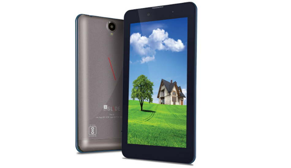 iBall Slide Enzo V8 tablet with 7-inch screen, Android Nougat launched at Rs 8,999