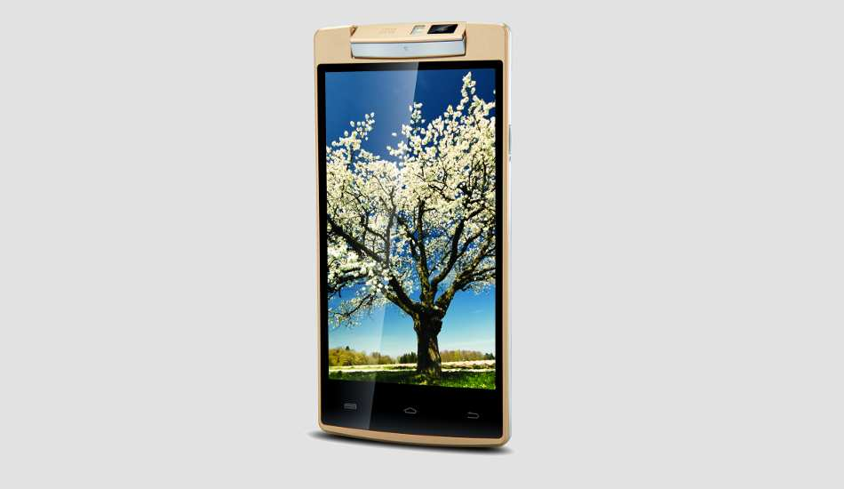 iBall launches India's cheapest phone with rotating camera
