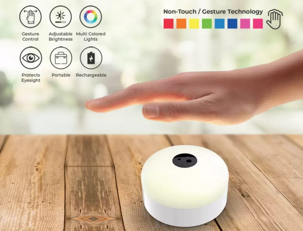 iGear iLumi 7-Colour eye protection lamp with gesture controls launched for Rs 699