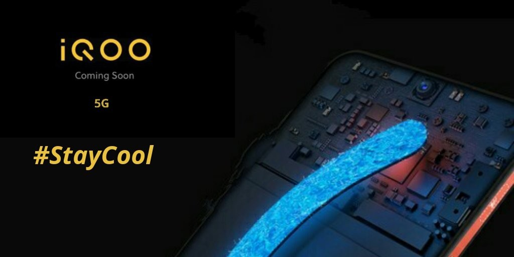 iQoo 5G smartphone with liquid cooling teased in India