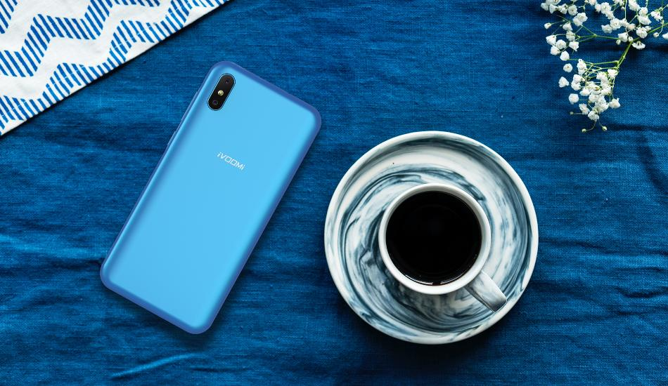 iVooMi i2 Lite Neptune Blue variant launched for Rs 6,499