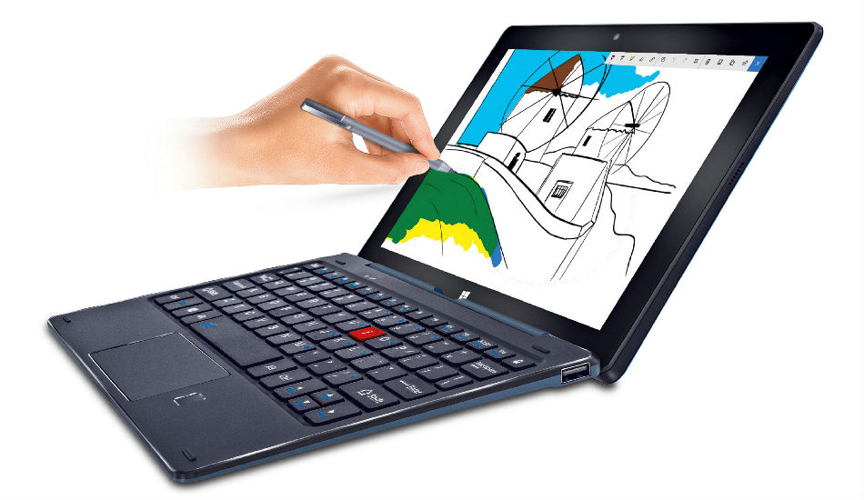 iBall Slide PenBook 2-in-1 with Windows 10, fingerprint sensor launched in India at Rs 24,999