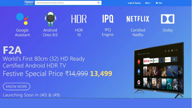 iFFALCON 32F2A, 65K2A, 75H2A Google-certified Android TVs price revealed for India
