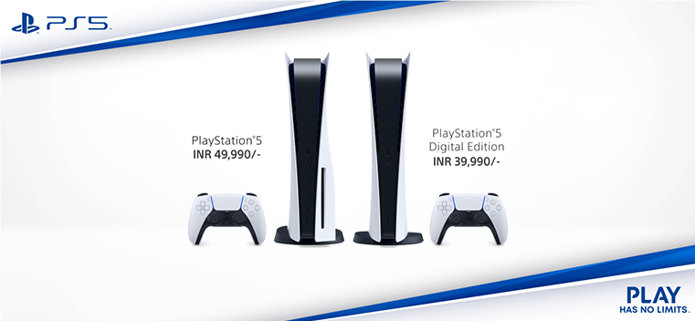 Sony announces PS5 Indian price, availbility expected in Nov