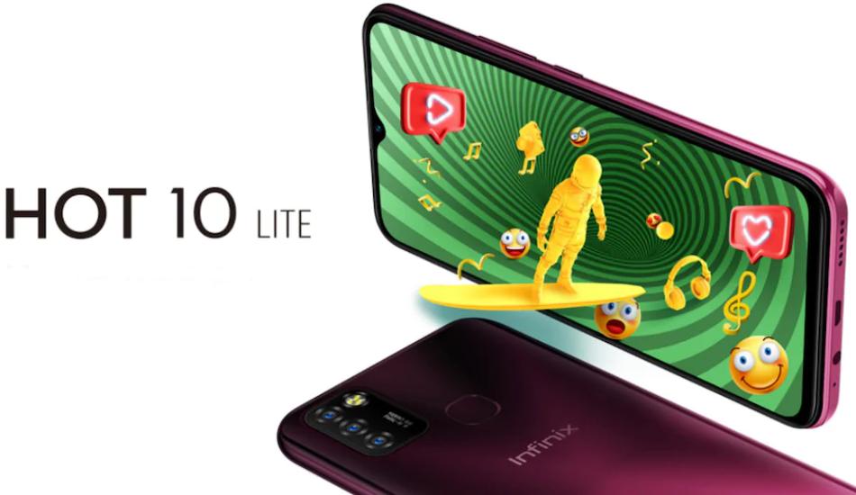 Infinix Hot 10 Lite launched with MediaTek Helio A20 SoC, 5000mAh battery