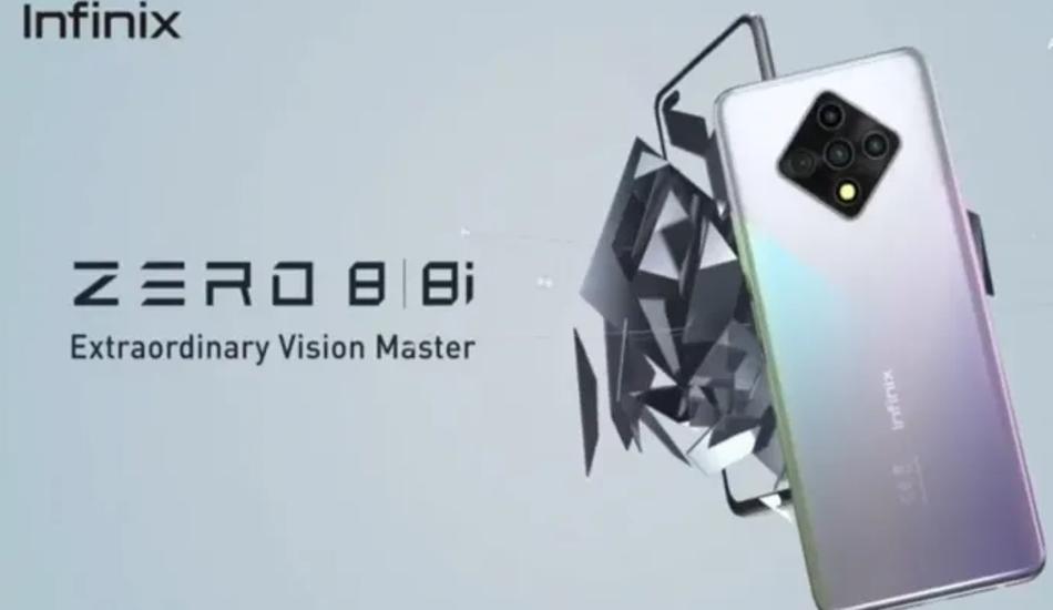 Infinix Zero 8 tipped to launch soon with MediaTek Helio G90 SoC