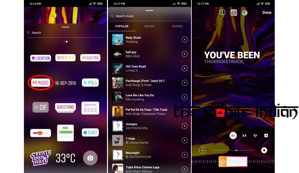 Instagram Music now in India, Here's how to use it