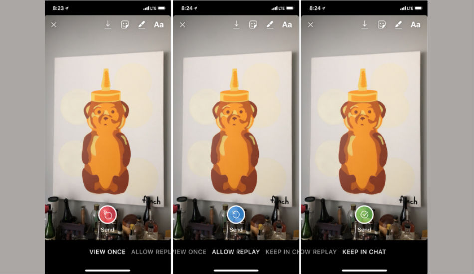 Instagram Direct now offer replay privacy controls: Report